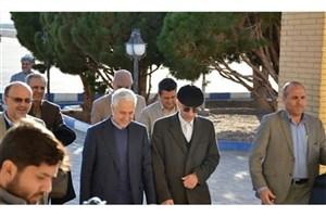 وزیر علوم، تحقیقات و فناوری به دانشگاه یزد رفت