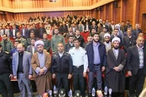 مراسم اولین سالگرد شهید گمنام دانشگاه آزاد اسلامی واحد انار برگزارشد