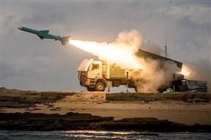 شلیک ۳ فروند موشک کروز قادر و قدیر و انهدام اهداف