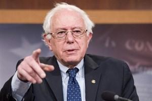 انتقاد شدید برنی سندرز از وضعیت اقتصادی آمریکا