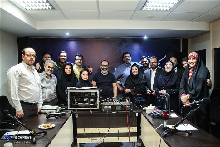 ضبط برنامه رادیویی «امتحان شو» در خبرگزاری ایسکانیوز