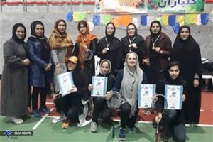دانشجوی واحد همدان، قهرمان مسابقات بدمینتون بانوان استان