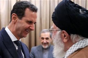 سفر بشار اسد به تهران، مراسم جشن پیروزی دو متحد بود