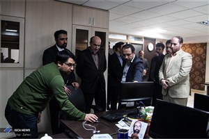 بازدید خزانهدار کل دانشگاه آزاد اسلامی از باشگاه خبرنگاران دانشجویی ایران