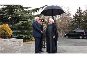 ظریف در مراسم استقبال از نخستوزیر ارمنستان حضور یافت