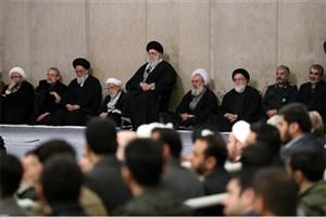 مراسم بزرگداشت آیتالله مؤمن در حسینیه امام خمینی(ره) برگزار شد