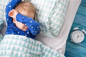 ۳۰ درصد کودکان گرفتار اختلال خواب هستند
