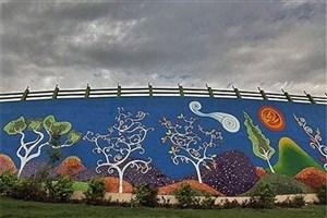 اجرای طرح های نقاشی دیواری در محله های مرکزی تهران