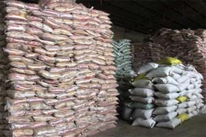 کشف 24 تن برنج قاچاق  از یک دستگاه تریلی