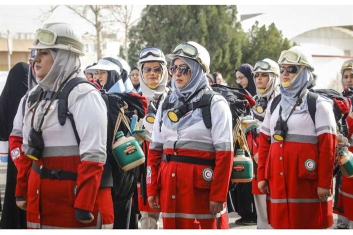 امدادگران  زن