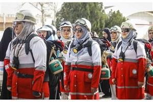 حضور 155 بانوی امدادگر درطرح ملی امداد و نجات نوروزی سال 98