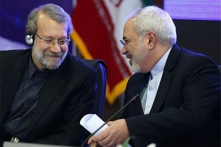 علی لاریجانی و ظریف