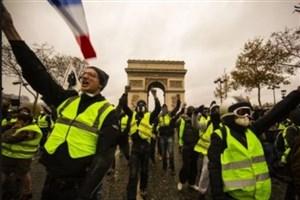 تظاهرات های جلیقه زردها وارد هفته شانزدهم شد