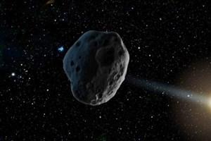 عبور یک سیارک از کنار زمین