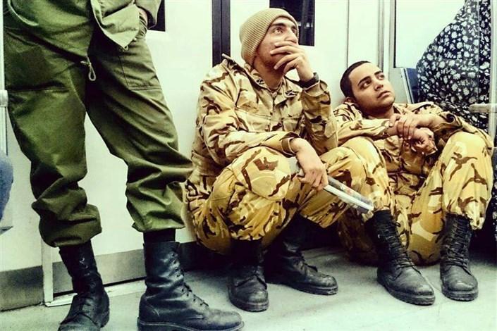 رایگان شدن رفتوآمد سربازان با مترو و اتوبوس