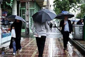 اطلاعیه هواشناسی درباره بارش باران در جنوب غرب کشور