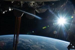 تصاویر طلوع خورشید  از فراز زمین
