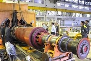 ژنراتورهای تولیدی کشور چرخ صنایع را میچرخانند