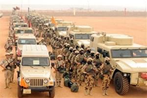 حمله سنگین ارتش مصر به صحرای سینا