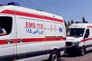 تصادف سه خودرو در اتوبان یادگار امام/5 نفرمصدوم شدند