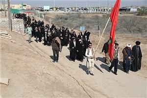 220 دانشجوی واحد کرمانشاه از مناطق عملیاتی بازدید کردند
