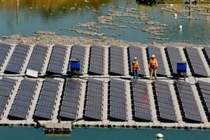 ساخت جزیره خورشیدی شناور