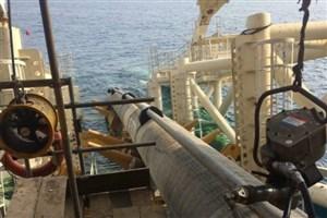 گاز از زیر بستر دریا به جزیره شیف بوشهر انتقال یافت