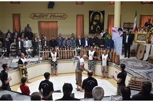 افتتاح گود زورخانه قاسم بن الحسن(ع) ندامتگاه تهران بزرگ+عکس