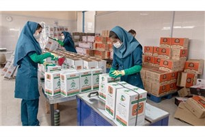 توزیع 2860 سبد غذایی بین مادران باردار سبزواری