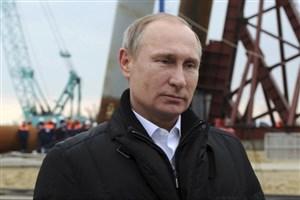 ولادیمیر پوتین در راه کریمه