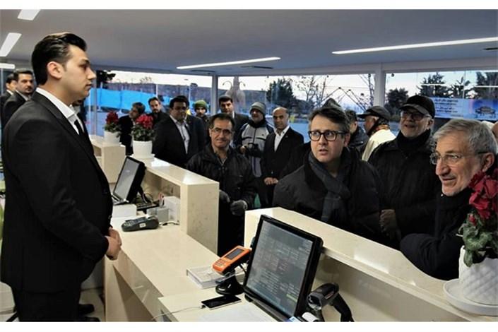 افتتاح گیشه فروش بلیط تله کابین در توچال