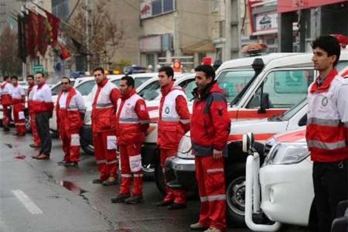 آماده باش امدادگران هلال احمر