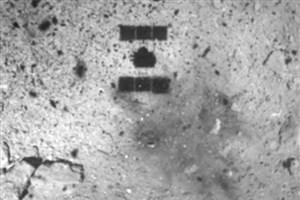 ژاپنی ها با ایجاد انفجار از عمق یک سیارک نمونه برداری می کنند