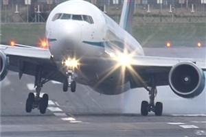 فرود اضطراری یک فروند هواپیما در فرودگاه مهرآباد