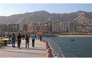 دریاچه شهدای خلیج فارس  میزبان گردشگران نوروزی