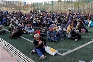 دستگیری 4676 معتاد متجاهر در7 روز گذشته