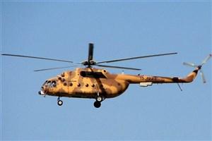 اعزام بالگردهای هوافضای سپاه به مناطق سیل زده