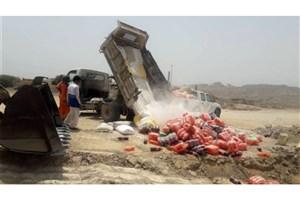 معدوم سازی بیش از 552 هزار کیلوگرم مواد غذایی غیر بهداشتی  تا 3 فروردین