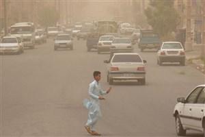 وزش طوفان با سرعت ۹۰ کیلومتر بر ساعت در سیستان و بلوچستان
