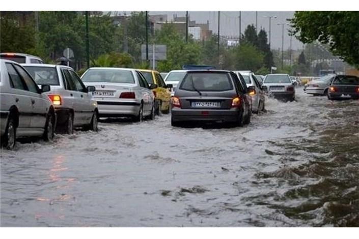 احتمال سیلابی شدن مسیل ها در  یزد، کرمان و قم