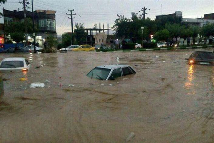 11 کشته و 15 مصدوم در سیل شیراز
