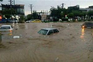 آخرین آمار تلفات سیل در شهر شیراز