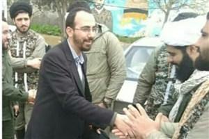 رئیس سازمان بسیج دانشجویی کشور از مناطق سیلزده آققلا و گنبد بازدید کرد