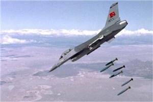 حمله هوایی سنگین ترکیه به شمال عراق