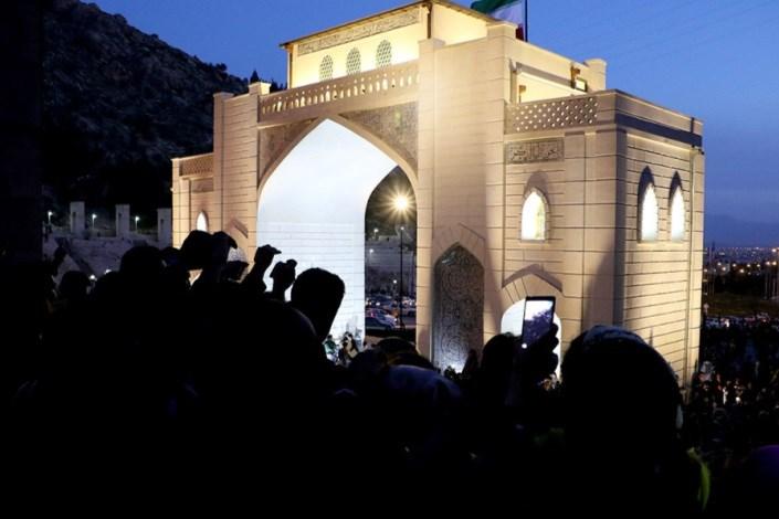 یادمان جان باختگان سیل شیراز در دروازه قرآن