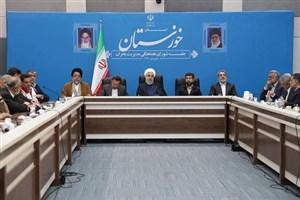 دولت توجه خاصی به خوزستان داشته است/نداشتن خسارت در سیل ممکن نیست
