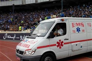 تمهیدات اورژانس تهران برای مسابقه فوتبال پرسپولیس -– السد