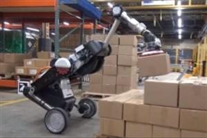 طراحی و تولید ربات جدید برای جابجایی کالا