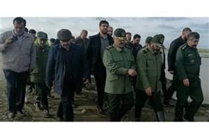 فرمانده کل سپاه به استان گلستان سفر کرد