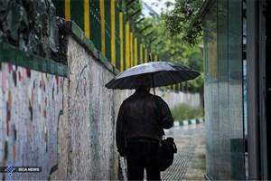 باران هوای آلوده تهران را شست